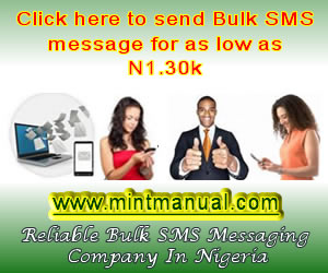 send bulk sms in Nigeria
